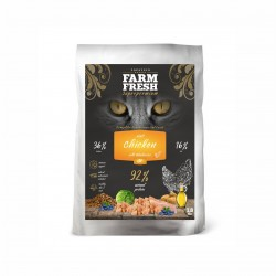 Farm Fresh CAT ADULT CHICKEN WITH BLUEBERRIES GRAIN FREE - NOVINKA