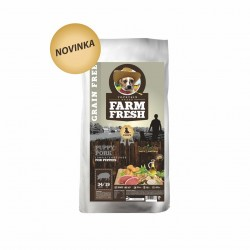 FARM FRESH PUPPY PORK GRAIN FREE - novinka